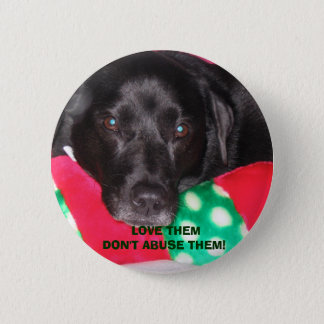 Misc 08-12-06 003,  LOVE THEM DON'T ABUSE THEM! 2 Inch Round Button