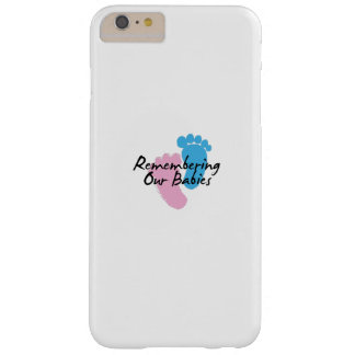 Miscarriage Awareness Remembering Our Babies Barely There iPhone 6 Plus Case
