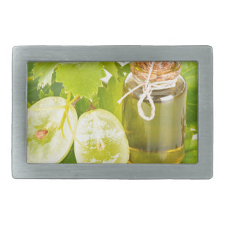 Miscellaneous - Bunch Seed Oil Five Rectangular Belt Buckle
