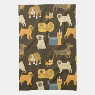 Miscellaneous dogs wallpaper kitchen towel