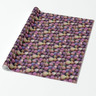 Miscellaneous - Purple Figs Pattern Wrapping Paper