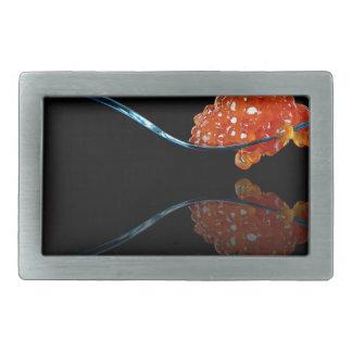 Miscellaneous - Red One Caviar Rectangular Belt Buckle