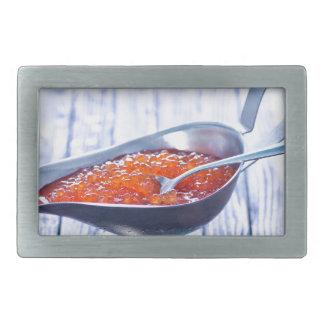 Miscellaneous - Red Three Caviar Belt Buckles