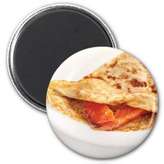 Miscellaneous - Salmon Pancakes Six 2 Inch Round Magnet