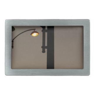 Miscellaneous - Street Eight Lights Rectangular Belt Buckle