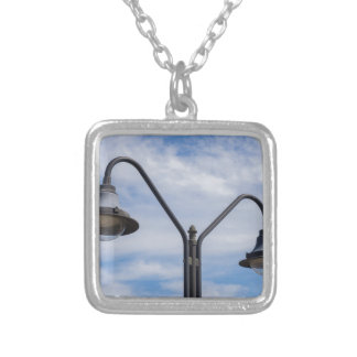 Miscellaneous - Street Ten Lights Silver Plated Necklace