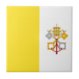 Miscellaneous - the Vatican City Pattern Flag Tile