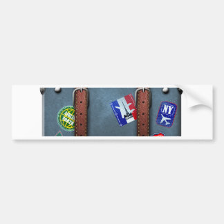 Miscellaneous - Traveler' S Suitcase Eight Bumper Sticker