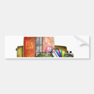 Miscellaneous - Traveler' S Suitcase Five Bumper Sticker