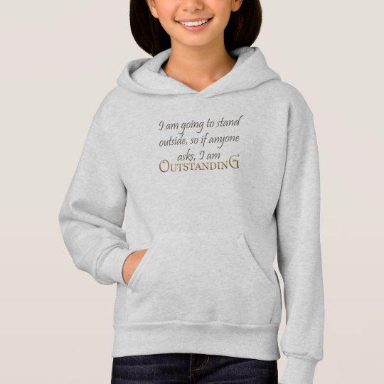 Mischief Outstanding Girl's Soft Hoodie