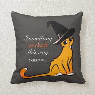 Mischievous Orange Cat - Pillow