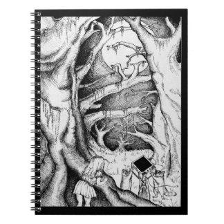 Mischievous Raccoon Notebook
