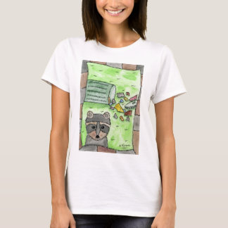 Mischievous Racoon T-Shirt