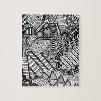 'Misdirection' Abstract Jigsaw Puzzle