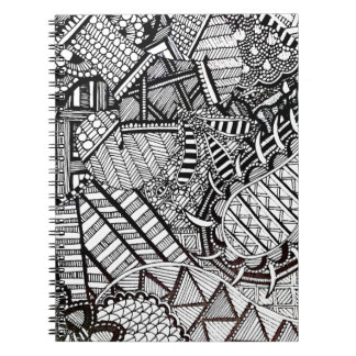 'Misdirection' Abstract Notebook