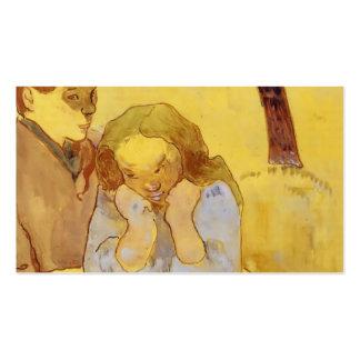 Misère d'humain de Paul Gauguin- Modèles De Cartes De Visite