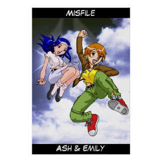 Misfile Book Cover 3 Poster