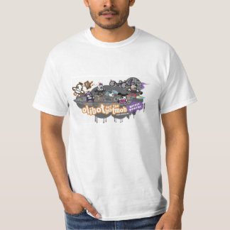 Misfit Power! The Botmob and Spaceship. T-Shirt