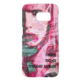 Misfit Rebel Trouble Maker Samsung Galaxy S7 Case