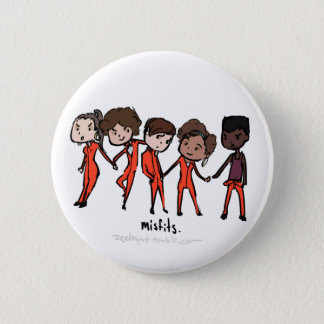 Misfits Cast 2 Inch Round Button