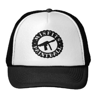 MISFITS PAINTBALL TRUCKER HAT