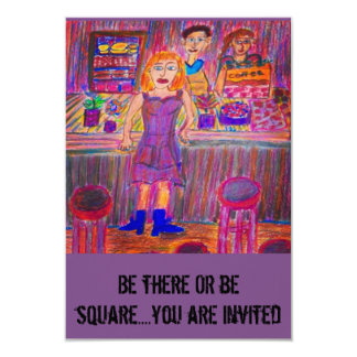 MISFIT'S PARTY INVITATION