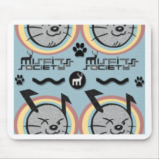 misfits society doggie fresh mouse pad