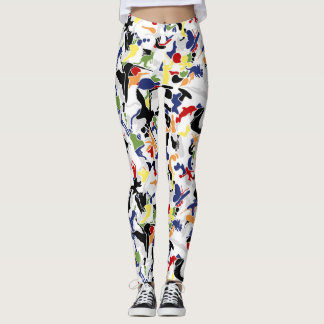 Mish Mash (multi-color) Leggings