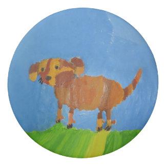 Mishka Dog Eraser