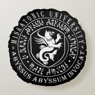 Miskatonic Gift - Miskatonic University Logo Round Pillow