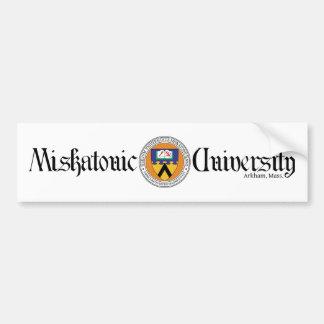 Miskatonic University Bumper Sticker
