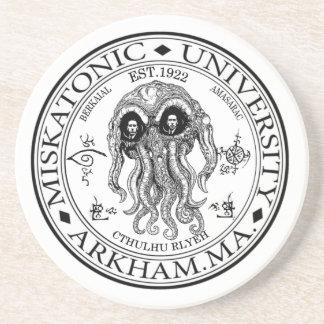 Miskatonic University CTHULHU HP LOVECRAFT Coaster