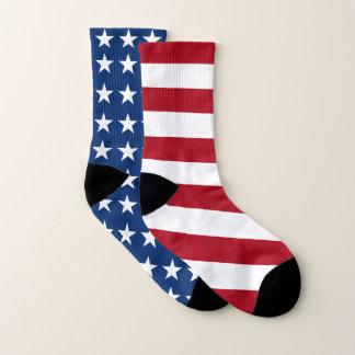 Mismatched Stars and Stripes USA Flag 1
