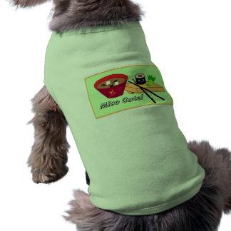 Miso Cute Sushi Pet/Dog Shirt Pet Tee
