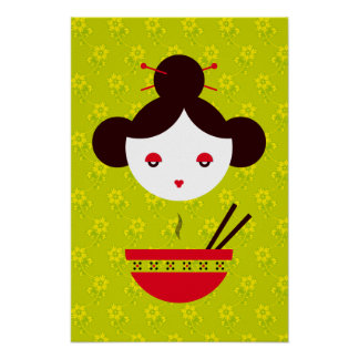 Miso girl poster