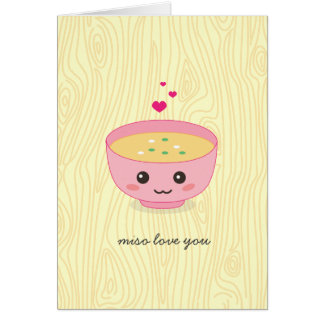 Miso Love You Card
