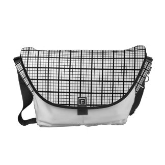 Misokoshigoushi Japanese Pattern Messenger Bag B