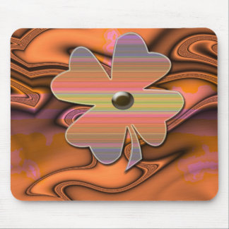 """""""Miss 60s Flower Power""""* Mouse Pad"""