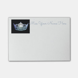 Miss America Baby Blue Crown Post-it-Notes Post-it Notes