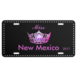 Miss America Candy Pink  Crown License Plate