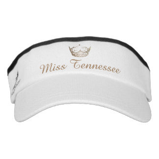 Miss America Champagne Crown Visor  Hat