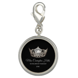 Miss America Crown SP Charm-Custom Name Charm