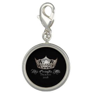 Miss America Crown SP Charm-Custom Name Charm