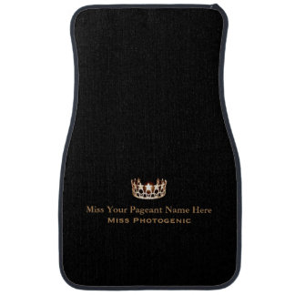 Miss America Custom Name Special Awards Car Mat