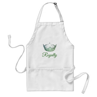 Miss America Green Crown Apron
