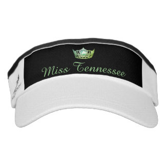Miss America Green Crown Visor  Hat