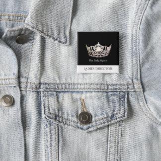 Miss America Ladies Director Custom Button Pin