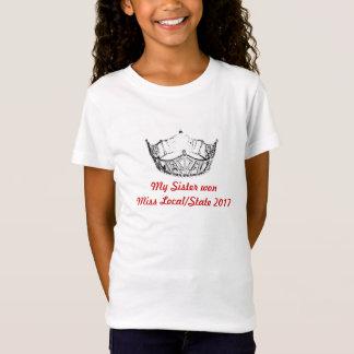 Miss America My Sister WonTop for Girls T-Shirt