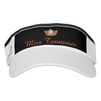 Miss America Orange Crown Visor  Hat