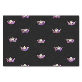 Miss America Orchid Crown Tissue Paper